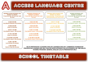 ACCESS-School-Timetable